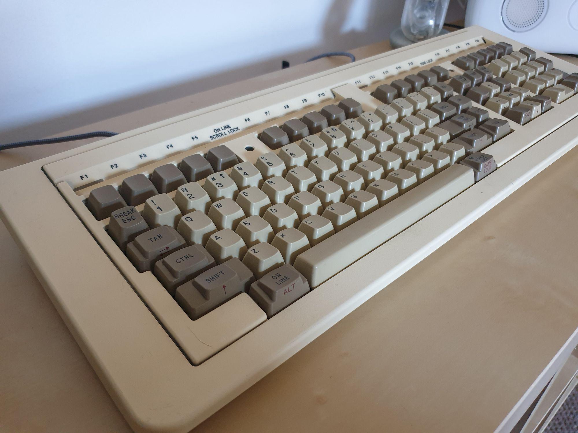 Data General 6348-A Terminal Keyboard